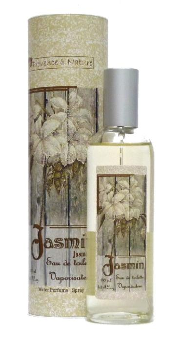 Eau de toilette naturelle JASMIN , 100 ml Provence & Nature