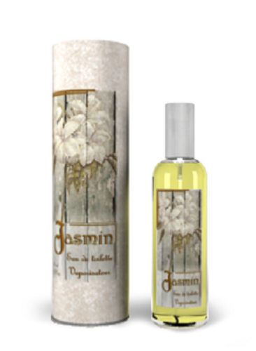 Eau de toilette Jasmin 100 % naturelle, 100 ml Provence & Nature