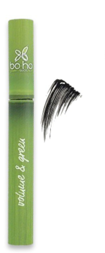 Mascara Volume & Green noir 5 ml - Certifié bio, Boho