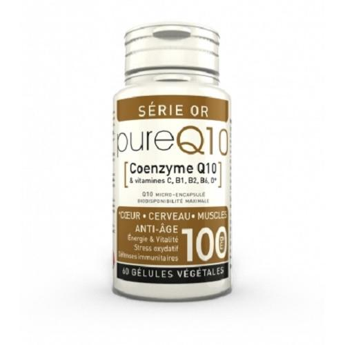 Pure Q10 Serie Or 100 mg - 60 capsules, LT Labo
