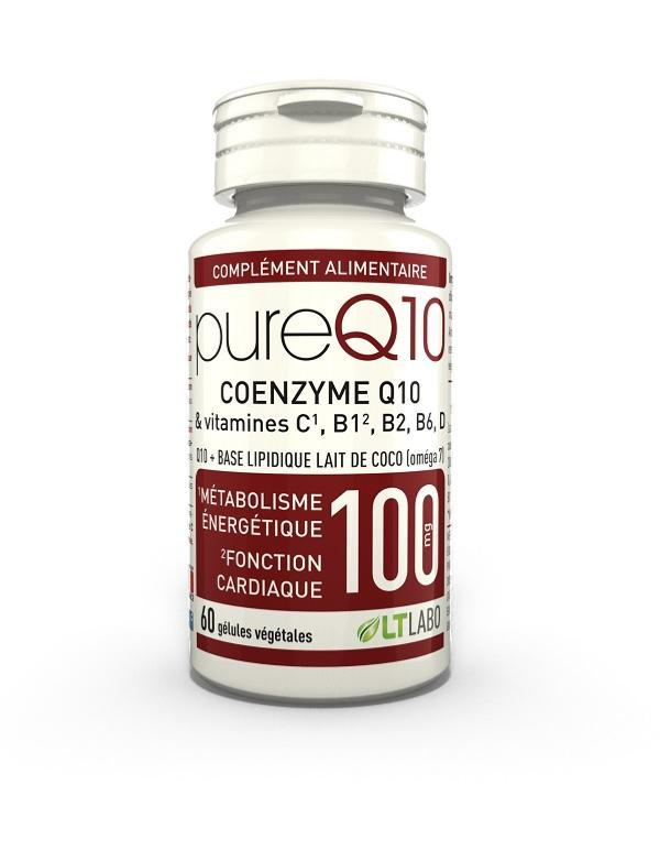 Pure Q10 - Coenzyme Q10 fort dosage - LT labo