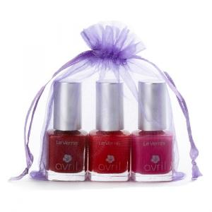 Ongles Tapis rouge - 3 vernis