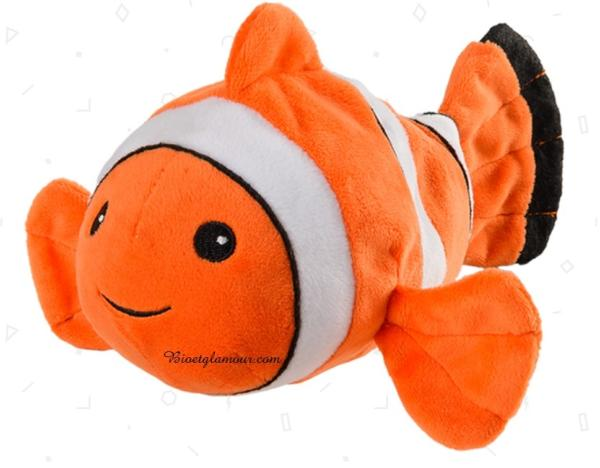 Bouillotte Peluche Poisson Clown Junior 20 cm