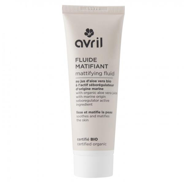 Fluide matifiant bio 50 ml Avril