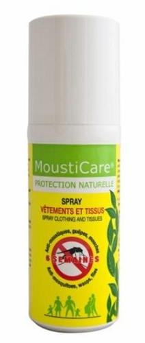 Spray vetements anti-moustiques 75 ml MoustiCare