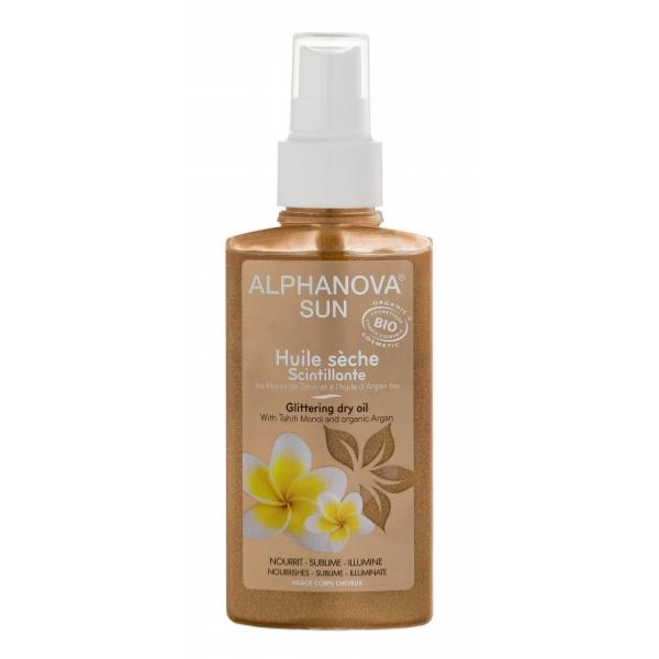 Sun Huile scintillante BIO - spray 125 ml - Alphanova