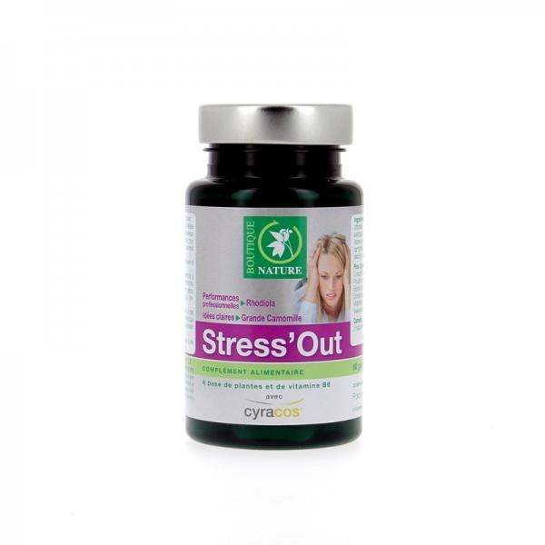 Stress'Out, 60 gélules, Boutique Nature