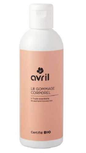 Gommage corporel - pamplemousse bio - Avril