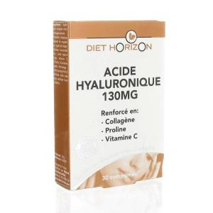 Acide hyaluronique 130 mg - 30 comprimés, Diet Horizon