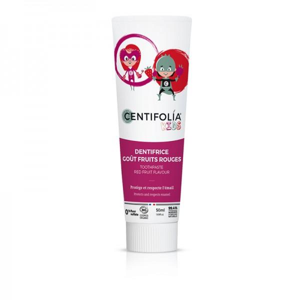Dentifrice enfants goût fruits rouges BIO - Centifolia