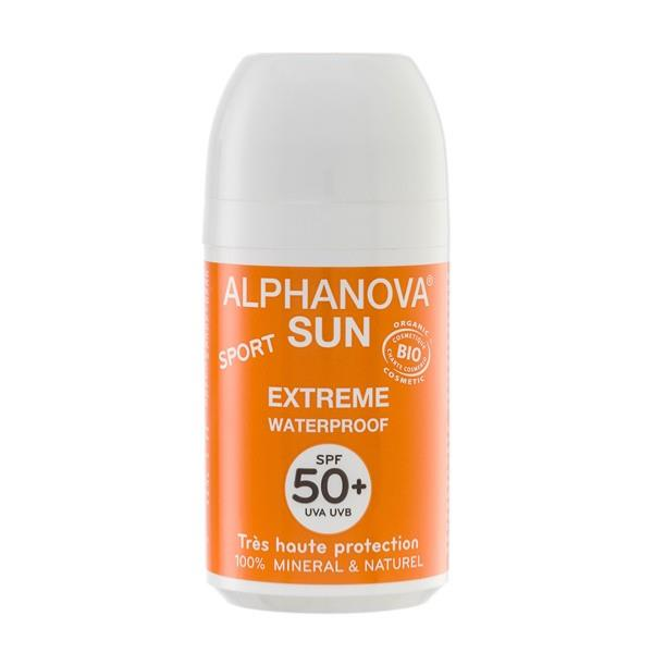 Sun Extrême 50+ roll-on BIO - 50 g Alphanova