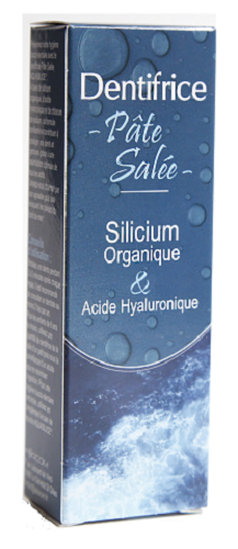 Dentifrice Pate salée, acide hyaluronique, Aquasilice