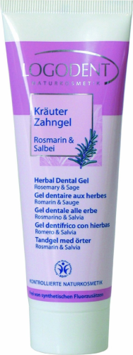 Gel dentaire romarin-sauge 75 ml pour homeopathie