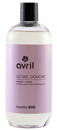 Gel douche Lavande-Orange bio, 500 ml - Avril