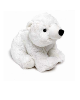 Bouillotte Peluche Coussin Ours Polaire blanc