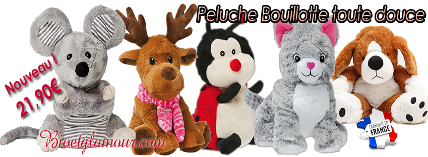 peluches bouillottes pelucho