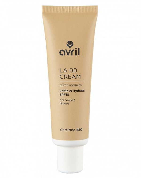 BB Cream medium - Certifiée bio, Avril