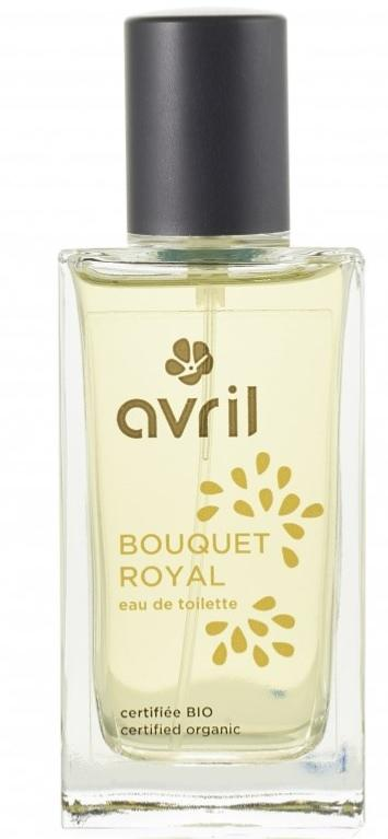 Eau de toilette Bio et Vegan BOUQUET ROYAL 100 % naturelle, Avril
