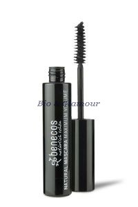 Mascara maxi volume noir intense (deep black), bio Benecos