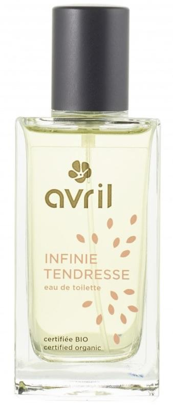 Eau de toilette Bio et Vegan INFINIE TENDRESSE 100 % naturelle, Avril